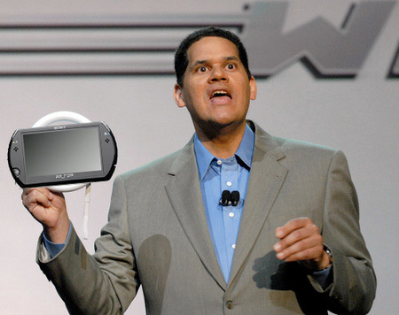 Reggie Fils-Aime no ve claro lo que pretende Sony con PSP Go