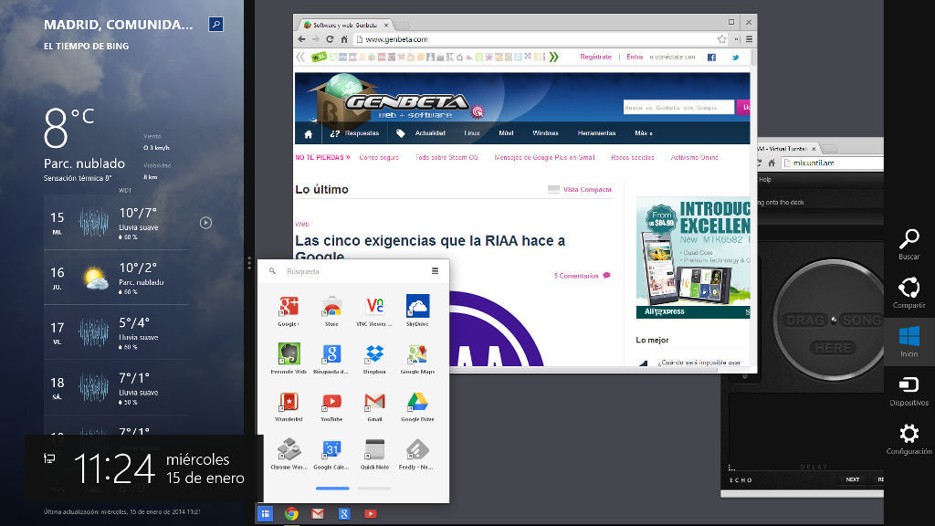 Foto de Chrome 32 en Windows 8 (1/5)
