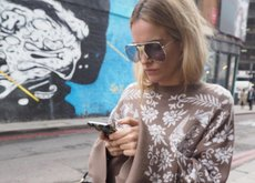 Londres no tiene nada que envidiarle a NY, ni siquiera su street style durante la Semana de la Moda