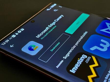 Microsoft lanza Edge Canary para Android: ya puedes descargarlo desde Google Play Store