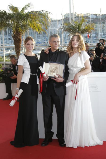 Festival de Cine de Cannes it girls Léa Seydoux Adèle Exarchopoulos
