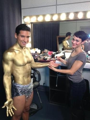 A Mario Lopez sí que le quitaba yo el dorado a lametazos...