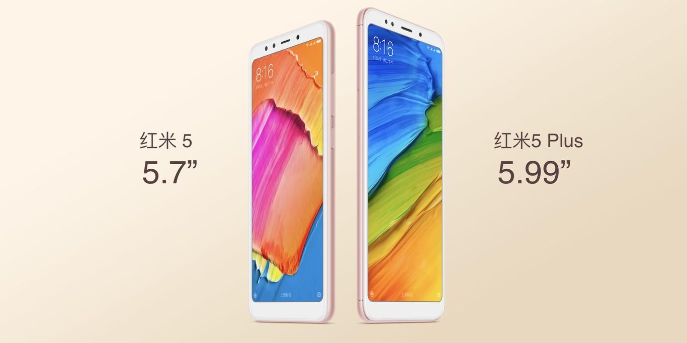 Xiaomi Redmi 5 diseño