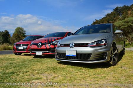 Comparativa: Suzuki Swift Sport vs Renault Clio RS vs Volkswagen Golf GTI (Parte 4)