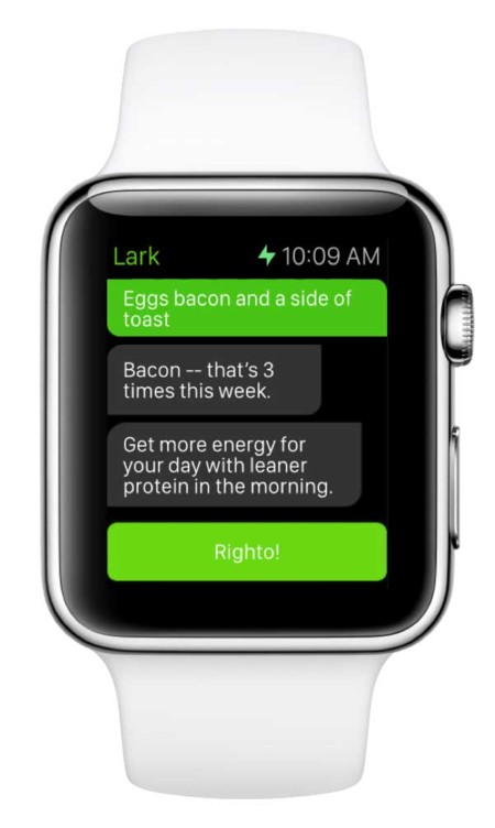 Lark Chat Apple Watch