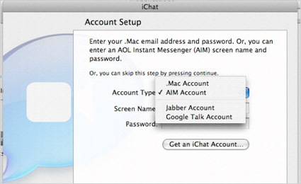 Google Talk en iChat para Leopard