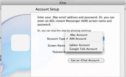 Google Talk en iChat para Leopard