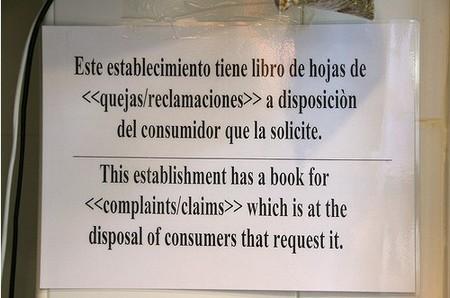 ¿Tienes libro de reclamaciones en tu negocio?