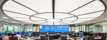 Una impresionante luminaria de ocho metros y espacio para fomentar el trabajo en equipo, en la última renovación del centro de control de Enagás