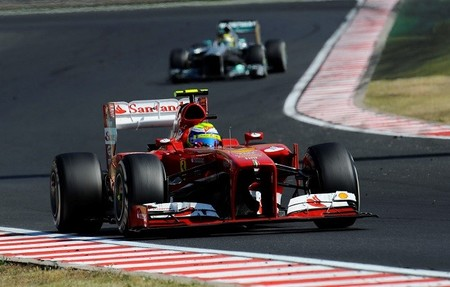 Ferrari en busca de mejoras con un test en Magny-Cours