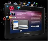 A RIM se le escapó una imagen de su BlackBerry Messenger para Playbook