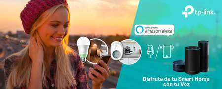 TP-Link añade compatibilidad con Amazon Alexa a su gama de dispositivos Smart Home