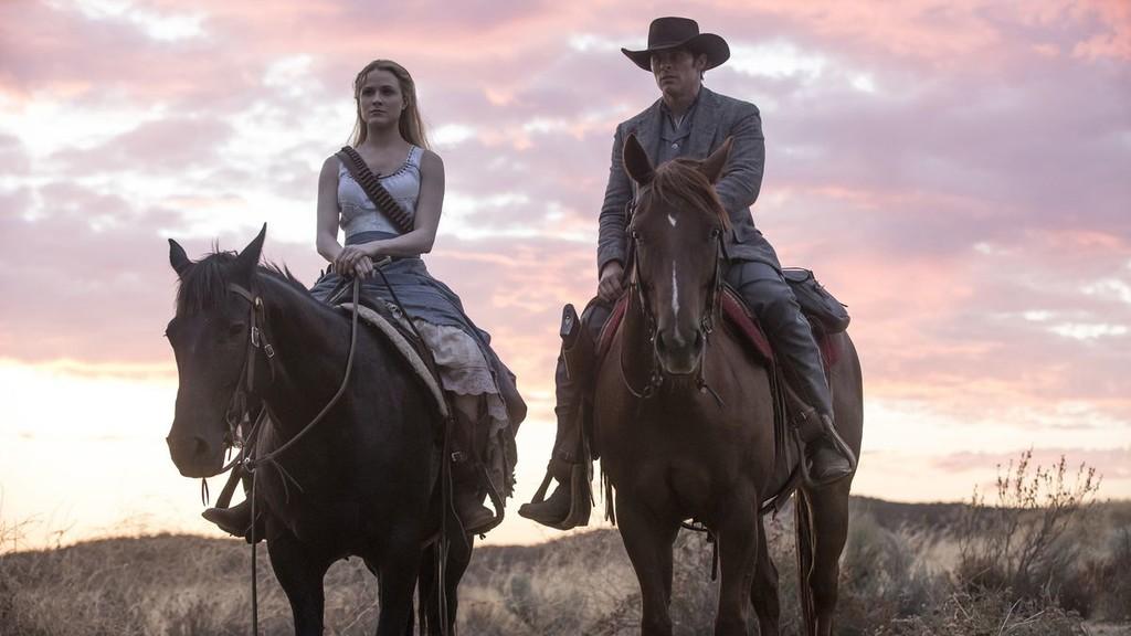 Evan Rachel Wood, James Marsden Westworld