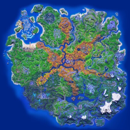 Nuevo mapa de la temporada 6