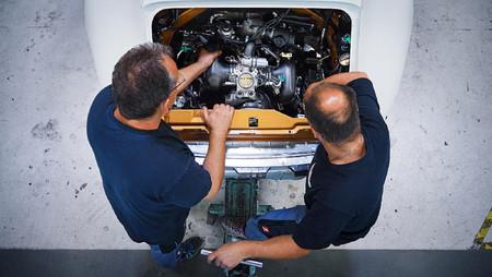 Porsche Project Gold motor