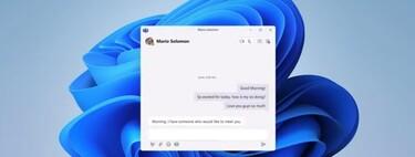 Windows 11 traerá integrado Teams de forma nativa: videollamadas desde la barra de herramientas en un solo clic