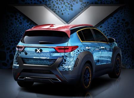 Kia X Car 4