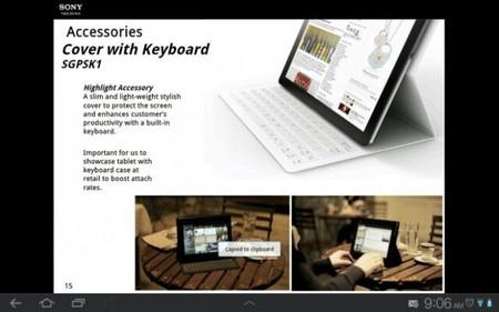 Primeras imágenes de la Sony Xperia Tablet