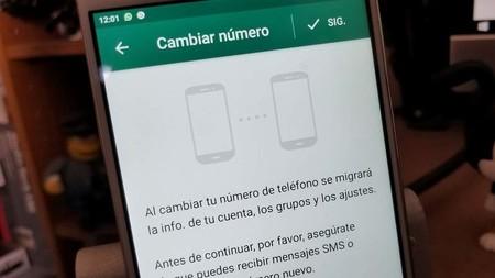 Ya podremos decidir a quién le notificamos de nuestro cambio de número en WhatsApp con su nueva actualización