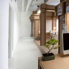 Foto 6 de 7 de la galería espacios-para-trabajar-una-oficina-de-carton en Decoesfera