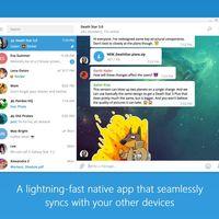 La aplicación de Telegram para Windows 10 PC llega a la Tienda de Windows... aunque no es la más reciente