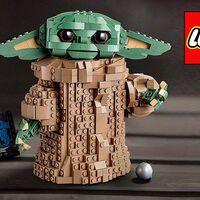 La figura de Baby Yoda de la serie Star Wars: The Mandalorian de LEGO es una ganga en AliExpress Plaza con este cupón. Se te queda en sólo 51,49 euros