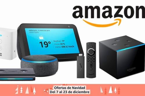 Por si se te escaparon en el Black Friday, Amazon tiene algunos de sus Echo y Fire TV en oferta por Navidad