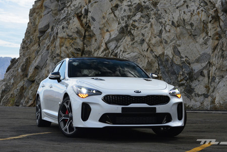 Kia Stinger Mexico