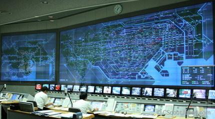 El centro de control de tráfico de Tokyo