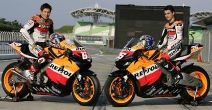 El equipo Repsol Honda se paseará por Madrid