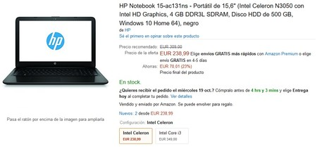 Hp Notebook 15 Ac131ns Amazon