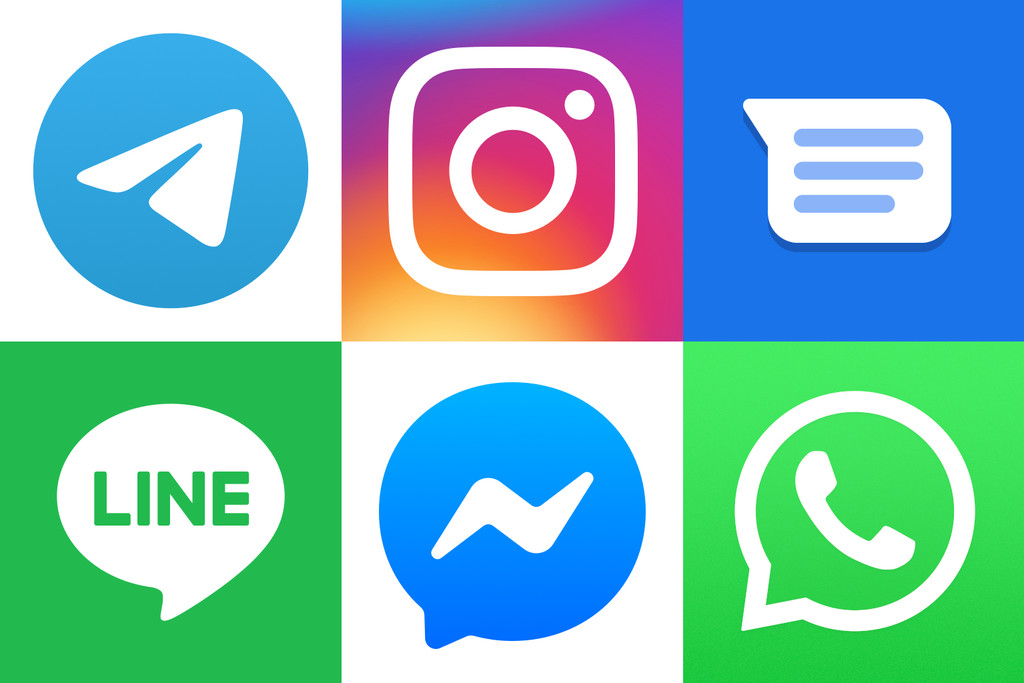Comparativa a fondo de aplicaciones de mensajería en Android: WhatsApp, Telegram, Messenger, Instagram™ y LINE cara a cara