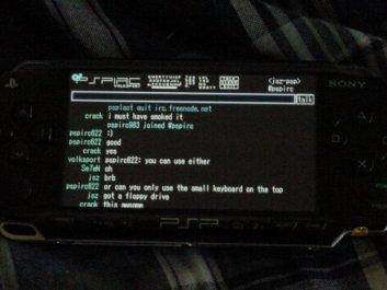 Chateando con la PSP