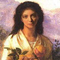 Esta cuenta de Instagram ha situado a Lorde como la gran musa de la historia del arte