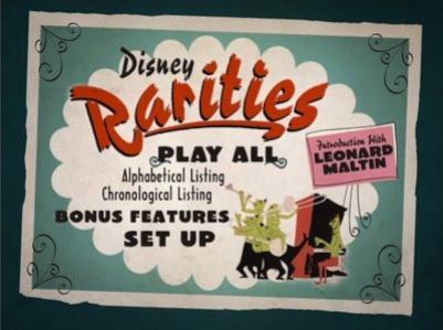 Otros tesoros de Walt Disney: las 'Disney Rarities'