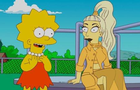 Lady Gaga y como exprimir el capítulo de los Simpsons al máximo: nueva canción