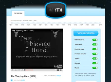 YTTM, viaja en el tiempo a través de YouTube