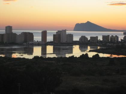 Atardecer en Calpe, Alicante