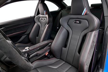 BMW M2 CS Prueba asientos