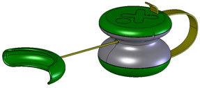 Generador portátil de bolsillo, ideal para los países subdesarrollados