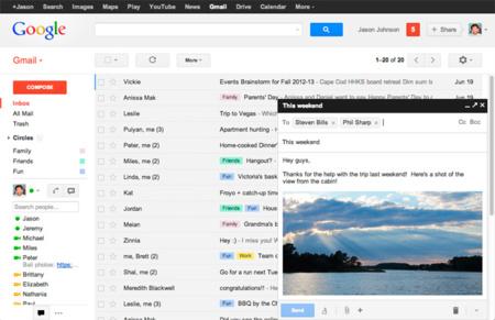Google anuncia mejoras en Gmail y se atreve con las ventanas independientes a la hora de redactar correos