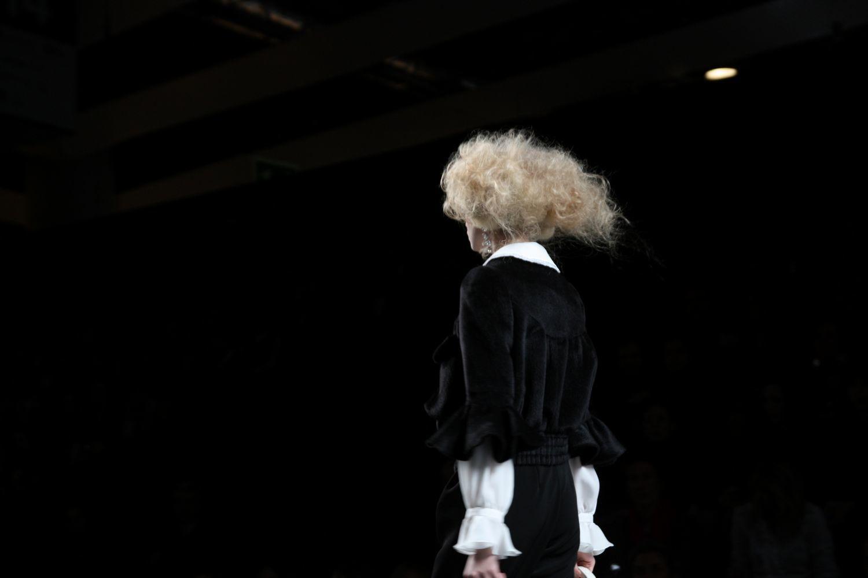 Foto de Alma Aguilar en la Cibeles Madrid Fashion Week Otoño-Invierno 2011/2012 (67/126)