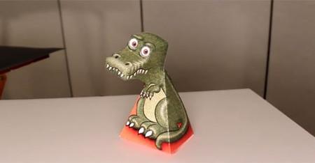 [Vídeo] El T-Rex que te vigila o el arte de las ilusiones ópticas
