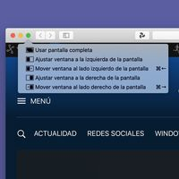 Con este truco de macOS Catalina puedes mover las ventanas a los lados con el teclado de forma similar a Windows 10