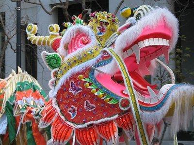 Año Nuevo Chino 2012: a lomos del dragón