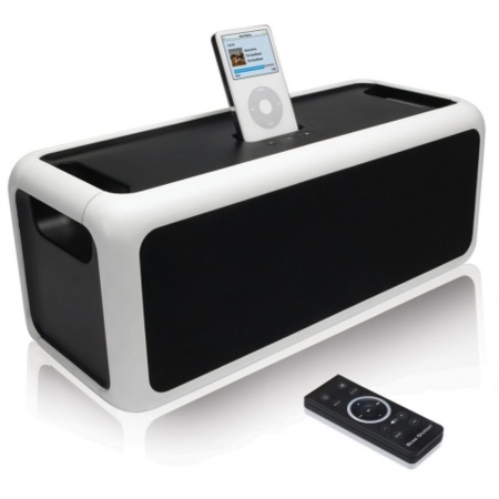 Sistema de audio BassStation para el iPod