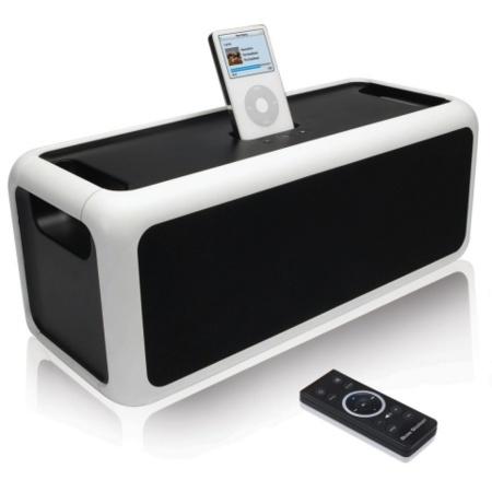 Sistema de audio BassStation para el iPod