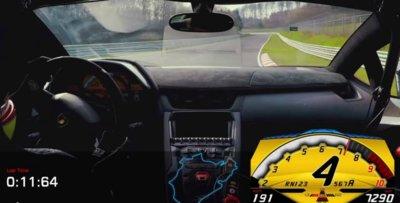 Lamborghini baja los 7 minutos del Nürburgring con el LP750-SV