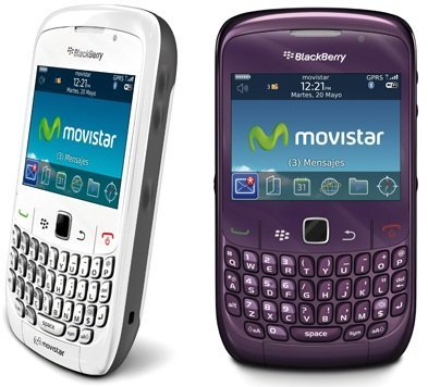 Tarifa Internet 15 para blackberry prepago de Movistar