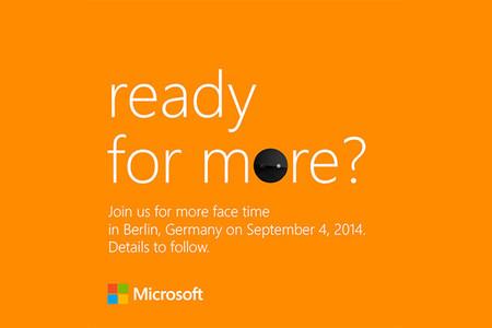 Microsoft nos cita para el 4 de Septiembre, nuevos Lumia en camino